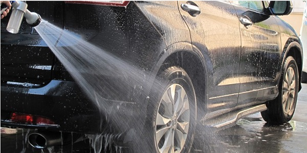 go to a car wash