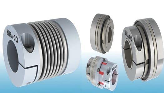 What are the types of couplings